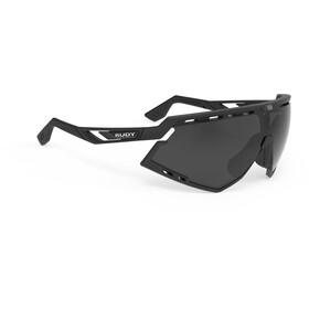 Rudy Project Defender Bril, black matte/black - rp optics smoke black